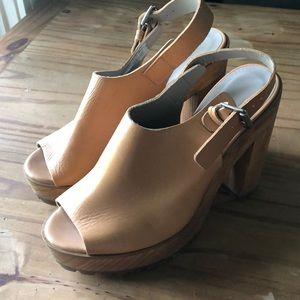 Zara Collection Platform Sandals
